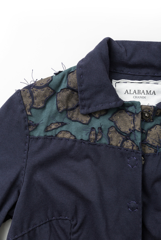 Alabama chanin cotton women s embroidered jacket 5