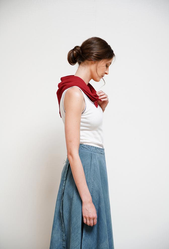 Alabama chanin organic cotton bandana 1