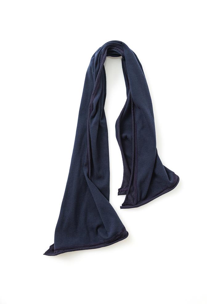 Alabama chanin organic cotton tie scarf 3