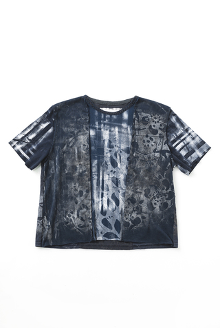 #28043: Medium/Large One-of-a-Kind Graffiti Tee