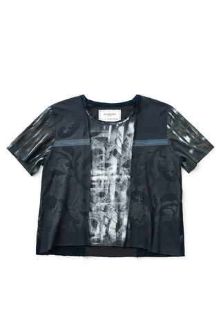 #28058: X-Large/XX-Large One-of-a-Kind Graffiti Tee