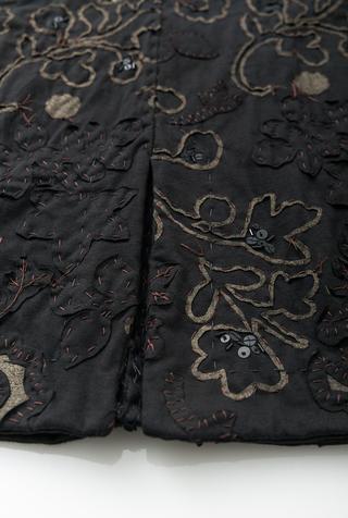 Alabama chanin organic cotton floral skirt 4