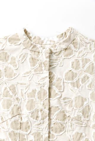 Alabama chanin floral tunic 8