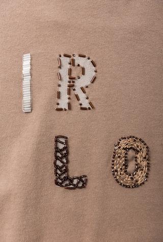 Alabama chanin hand embroidered beaded sequin air love tee 5