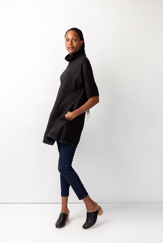Alabama chanin relaxed turtleneck tunic 2