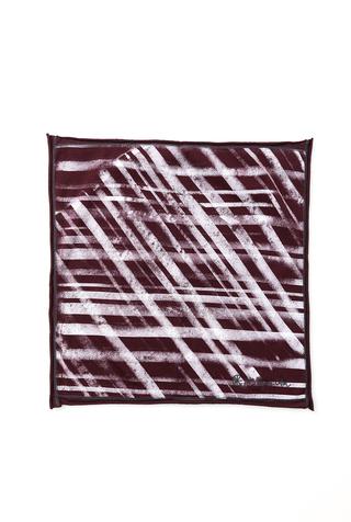 Alabama chanin stenciled cotton bandana 4