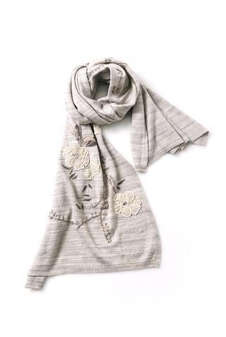 Alabama chanin knit wrap scarf 4