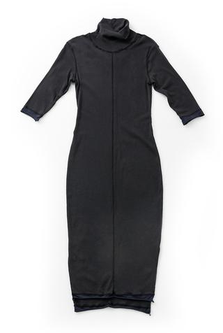 Rib Turtleneck Dress