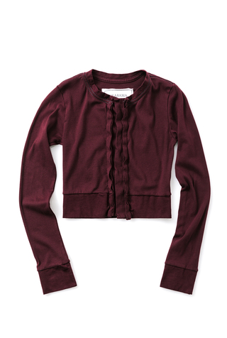 The Crop Cardigan