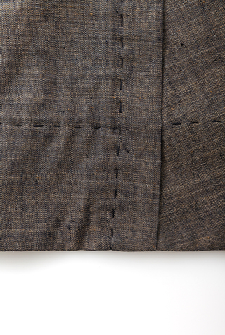 Alabama chanin chambray organic handsewn leighton full skirt 5