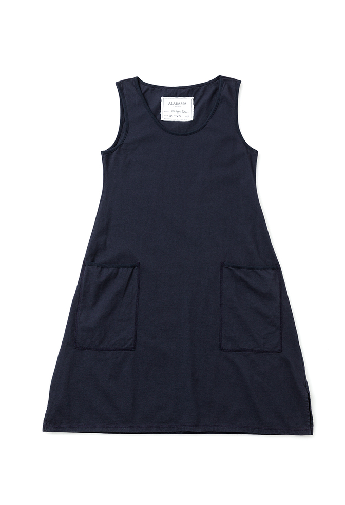 Alabama chanin organic cotton racerback dress 1