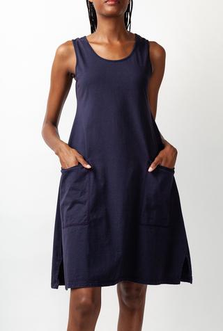 Alabama chanin organic cotton racerback dress 2