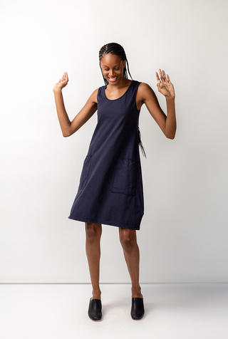 Alabama chanin organic cotton racerback dress 3