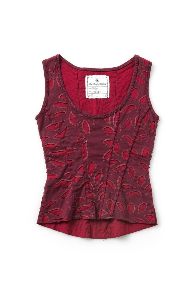 Corset   bloomers   reverse applique   burgundy carmine   590   abraham rowe 2