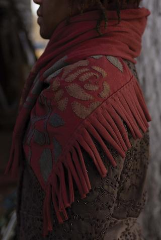 The school of making rose shawl diy sewing kit 4
