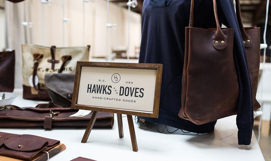 Alabama chanin hawks and doves pop up shop 2