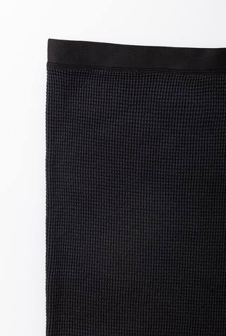 Alabama chanin womens waffleknit pencil skirt 2