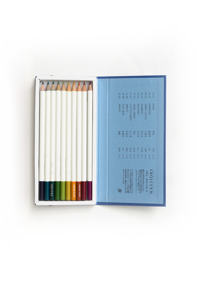 The school of making irojiten colored pencils 2