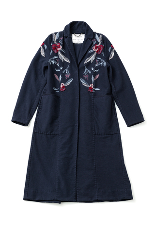 Alabama chanin embroidered duster 4