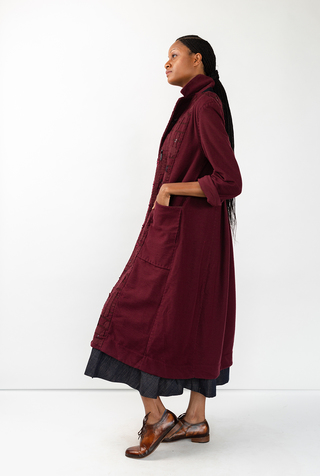 Alabama chanin tweed duster 2