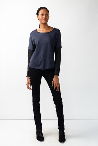Alabama chanin long sleeve dolman tee 4