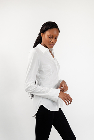 Alabama chanin collared shirt 2