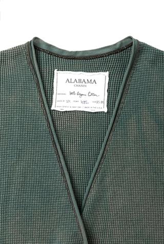 Alabama chanin waffle knit boyfriend cardigan 4