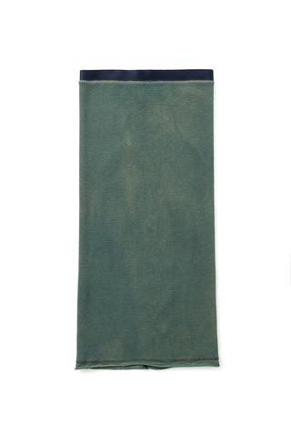 Alabama chanin indigo waffle straight skirt 5