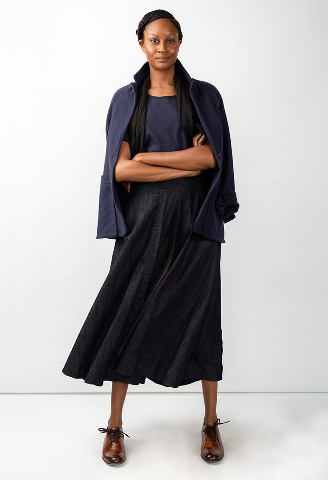 Alabama chanin chambray organic handsewn leighton long skirt 12 copy