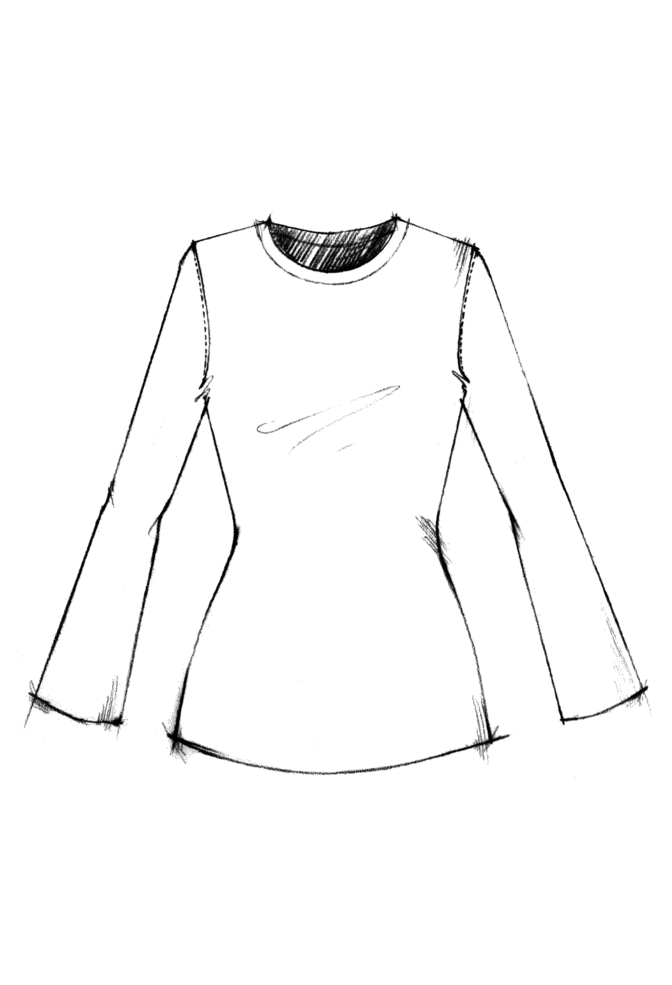 T shirt top long sleeve