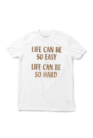 Life can be so easy ringer tee 3