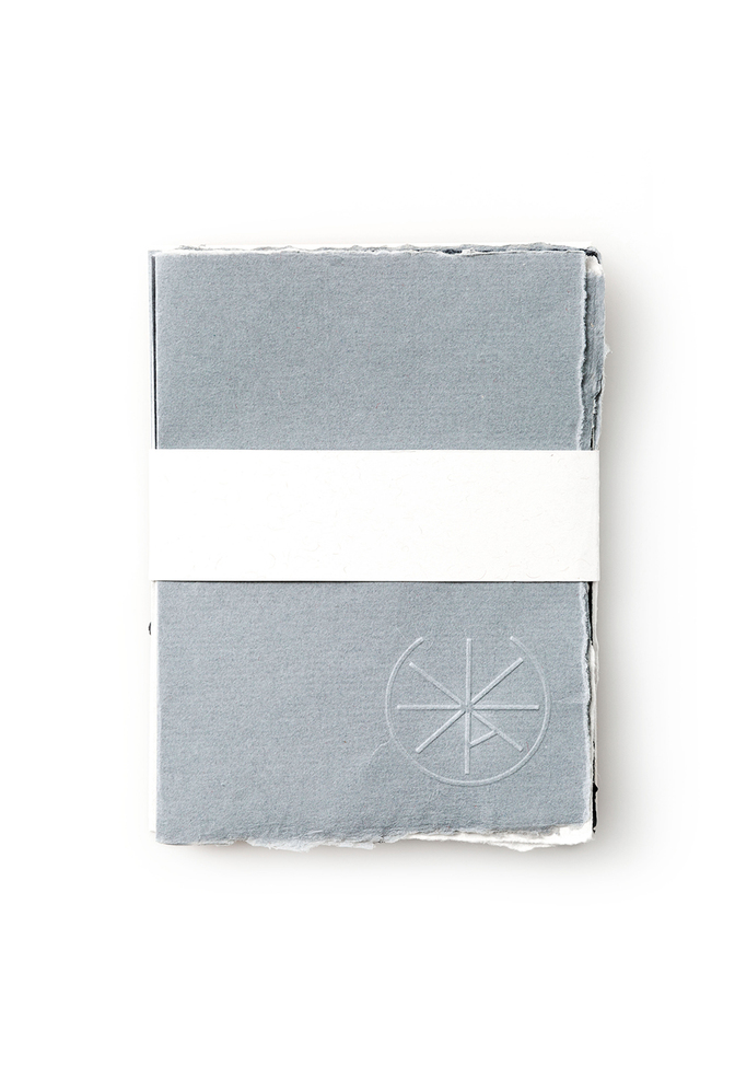 Alabama chanin recycled paper note cards stationery 1