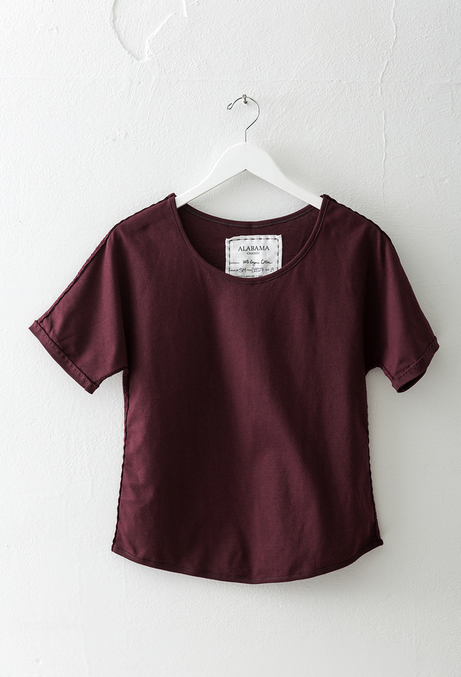 Alabama chanin short sleeve dolman tee 12