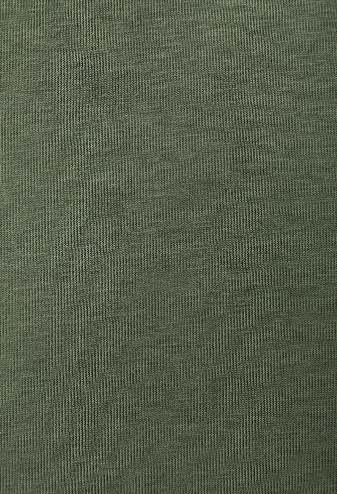 The school of making made in the usa medium weight organic cotton jersey verdant