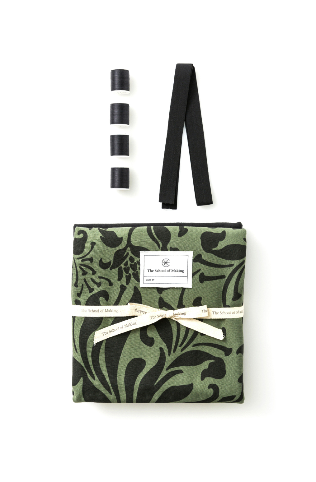 The school of making swing skirt bundle verdant