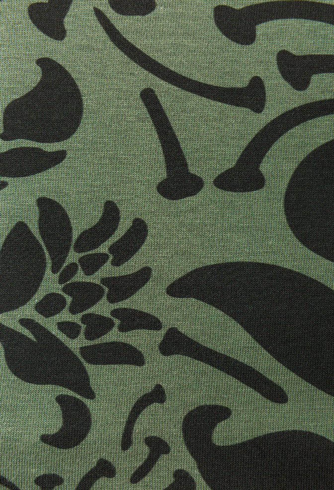 The school of making printed organic cotton jersey fabric 1