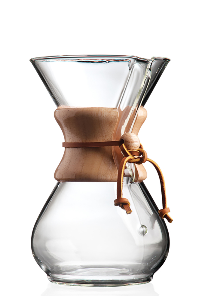 Alabama chanin chemex pour over coffee maker