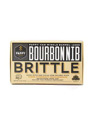 Pappy Bourbon Nib Brittle