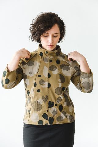 The school of making fractal dress pattern 2