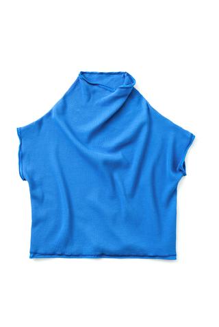 Alabama chanin sleeveless waffle sweatshirt 1