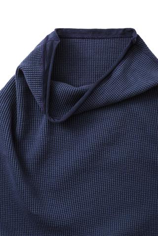 Alabama chanin sleeveless waffle sweatshirt 2