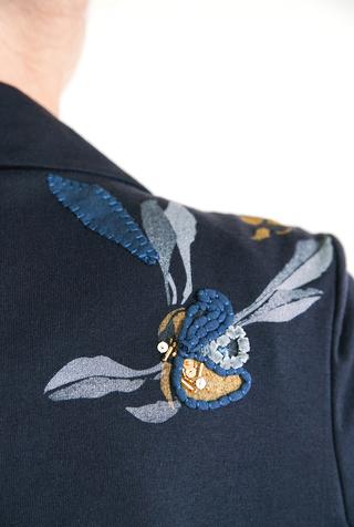Alabama chanin embroidered blazer 3
