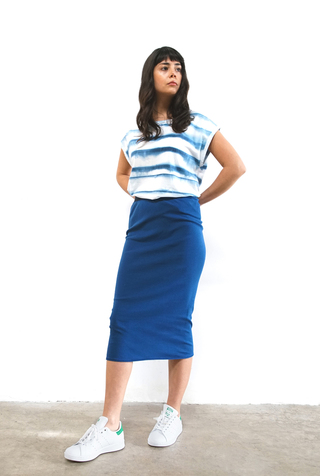 Alabama chanin rib pencil skirt 4