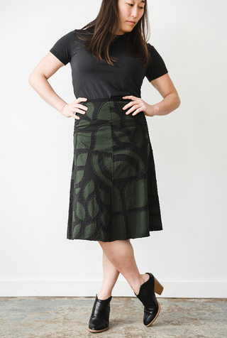 The school of making abstract swing skirt diy kit 2