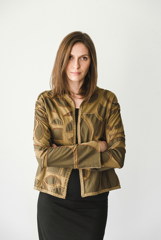 Abstract Variegated Classic Jacket DIY Kit