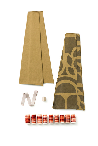 The school of making abstract variegated swing skirt diy kit 4