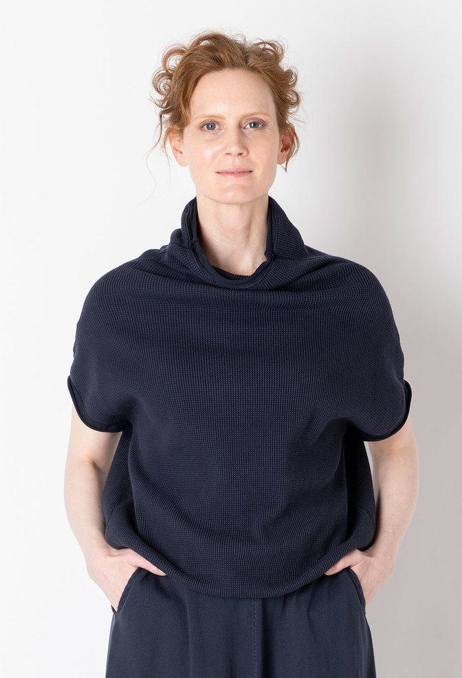 Alabama chanin sleeveless waffle sweatshirt 5