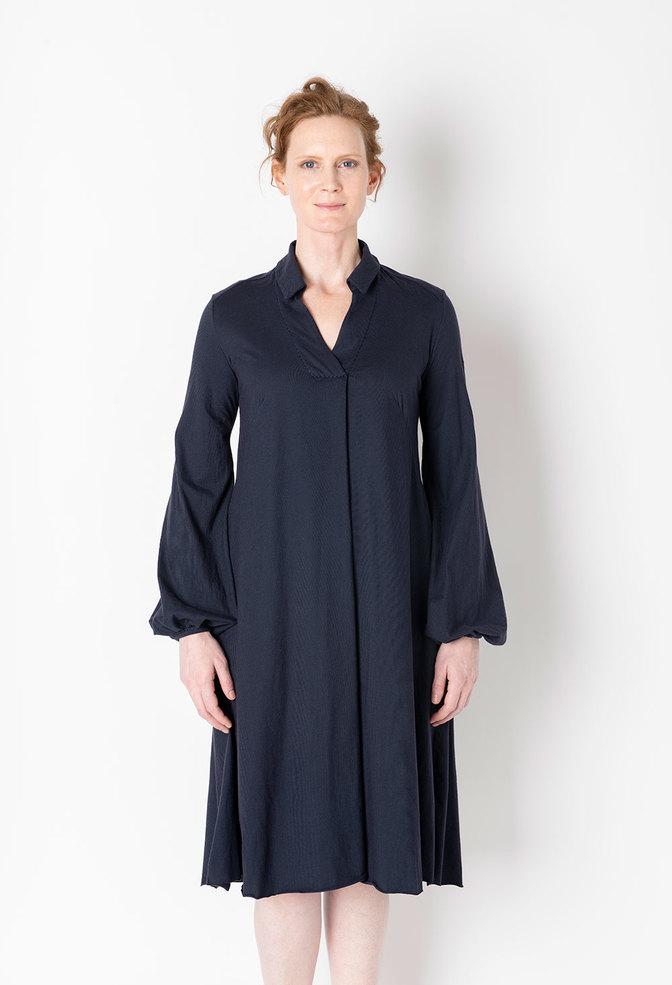 Alabama chanin relaxed lightweight cotton dress 1