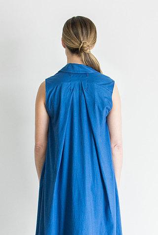 Alabama chanin relaxed lightweight cotton dress 5