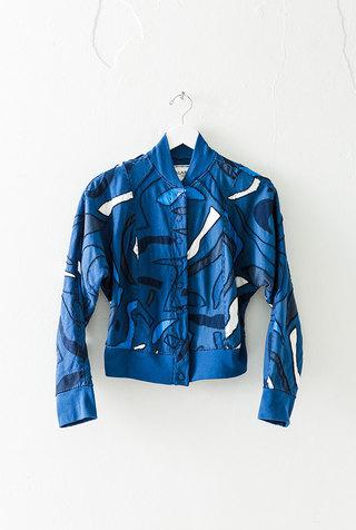 Alabama chanin embroidered bomber jacket 2